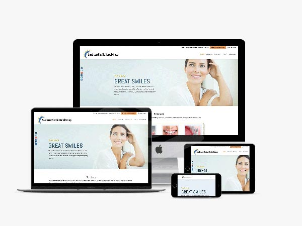 Our web design creation for Sefdental.com